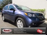 2013 Twilight Blue Metallic Honda CR-V EX-L #73866645