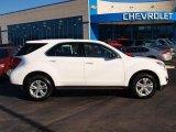 2010 Summit White Chevrolet Equinox LS #73866695
