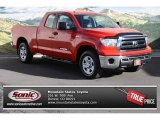 2010 Radiant Red Toyota Tundra Double Cab 4x4 #73866633