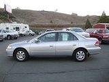 Satin Silver Metallic Honda Accord in 2002