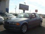 2001 Steel Blue Metallic BMW 3 Series 325i Sedan #73884954