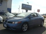 2007 Atomic Blue Metallic Honda Civic EX Coupe #73884953