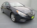2013 Pacific Blue Pearl Hyundai Sonata Limited #73884728