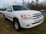 Natural White Toyota Tundra in 2003