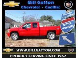 2013 Victory Red Chevrolet Silverado 1500 LT Extended Cab 4x4 #73884936