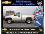 2013 Silver Ice Metallic Chevrolet Silverado 1500 Work Truck Regular Cab 4x4 #73884934
