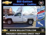 2013 Summit White Chevrolet Silverado 1500 Work Truck Regular Cab 4x4 #73884933