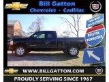 2013 Black Chevrolet Silverado 1500 LT Extended Cab 4x4 #73884931