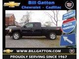 2013 Black Chevrolet Silverado 1500 LT Extended Cab 4x4 #73884929