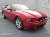 2013 Race Red Ford Mustang V6 Premium Convertible #73884721