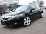 2010 Crystal Black Pearl Acura TSX Sedan #73884619