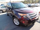 2011 Bordeaux Reserve Red Metallic Ford Explorer XLT #73884762
