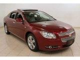 2008 Red Jewel Tint Coat Chevrolet Malibu LTZ Sedan #73884833
