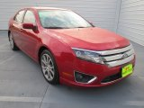 2010 Red Candy Metallic Ford Fusion SE #73884742