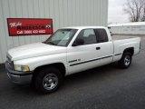 1999 Bright White Dodge Ram 1500 SLT Extended Cab #73910268