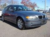 2003 Steel Blue Metallic BMW 3 Series 325i Sedan #73910080