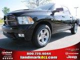 2012 Black Dodge Ram 1500 Sport Crew Cab #73910129