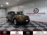 2011 Golden Bronze Metallic Ford Explorer Limited #73910102