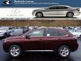 2013 Claret Red Mica Lexus RX 350 AWD #73910158