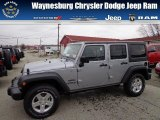 2013 Billet Silver Metallic Jeep Wrangler Unlimited Sport 4x4 #73927779