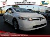 2007 Taffeta White Honda Civic Hybrid Sedan #73927856