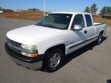 1999 Summit White Chevrolet Silverado 1500 LS Extended Cab #73934929