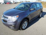 2013 Atlantis Blue Metallic Chevrolet Equinox LS #73934925