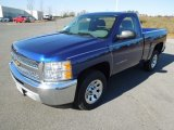 2013 Blue Topaz Metallic Chevrolet Silverado 1500 Work Truck Regular Cab #73934920