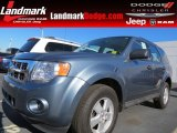 2010 Steel Blue Metallic Ford Escape XLS #73934571