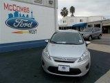 2013 Ingot Silver Ford Fiesta S Sedan #73934457