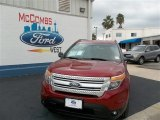 2013 Ruby Red Metallic Ford Explorer XLT #73934455