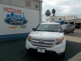 2013 Oxford White Ford Explorer XLT #73934452