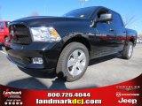 2012 Black Dodge Ram 1500 Express Crew Cab #73934512