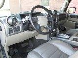 2003 Hummer H2 SUV Wheat Interior