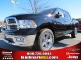 2012 Black Dodge Ram 1500 Big Horn Crew Cab #73934508