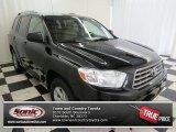 2010 Black Toyota Highlander V6 #73934878