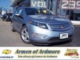 2013 Silver Topaz Metallic Chevrolet Volt  #73934656