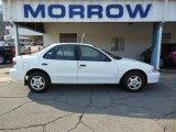 2002 Bright White Chevrolet Cavalier Sedan #73934491