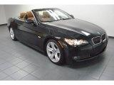 2008 Black Sapphire Metallic BMW 3 Series 335i Convertible #73934845