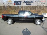 2013 Black Chevrolet Silverado 1500 LT Extended Cab 4x4 #73934604