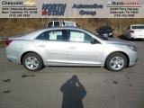 2013 Silver Ice Metallic Chevrolet Malibu LS #73934600