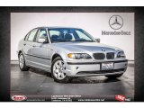 2004 Titanium Silver Metallic BMW 3 Series 325xi Sedan #72860478