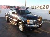 2005 Onyx Black GMC Sierra 1500 SLT Extended Cab 4x4 #73633584
