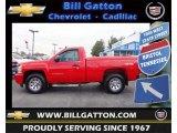 2011 Victory Red Chevrolet Silverado 1500 LS Regular Cab 4x4 #73989621