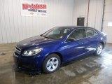 2013 Blue Topaz Metallic Chevrolet Malibu LS #73989716