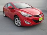 2013 Volcanic Red Hyundai Elantra Coupe GS #73989219