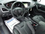 2013 Dodge Dart Limited Black Interior