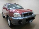 2004 Merlot Red Hyundai Santa Fe  #73989010