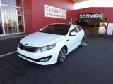 2013 Snow White Pearl Kia Optima SX Limited #73989302