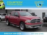 2010 Inferno Red Crystal Pearl Dodge Ram 1500 Big Horn Crew Cab 4x4 #73989605